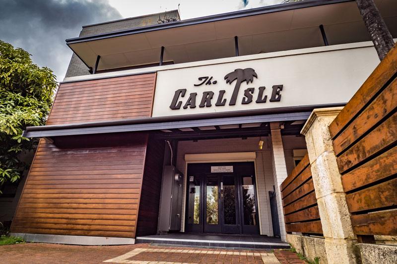 Facade of The Carlisle Hotel