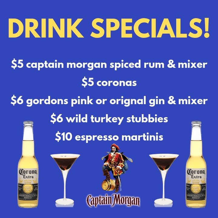 DRINK SPECIALS!