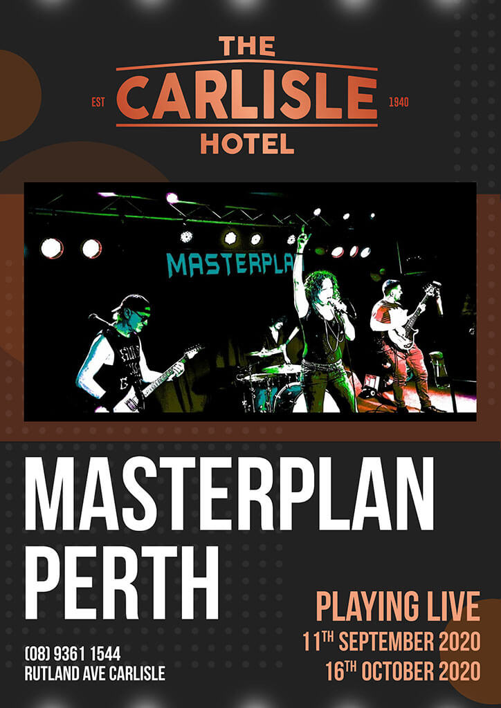 Live Music in Perth - Master Plan