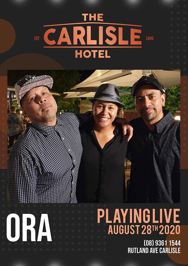 Live Music in Perth - Ora